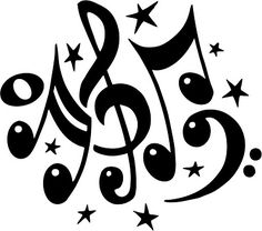 music-symbols-clipart-black-and-white