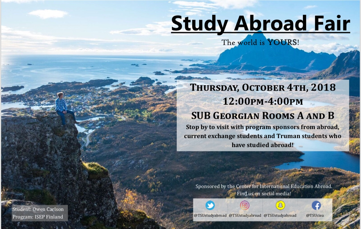 studey abroad fair
